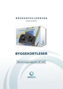 Brukerveiledning for Byggekortleser