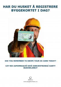 Har du husker å registrere byggekort